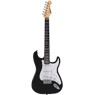 ARIA STG003SBK Negra Guitarra Electrica