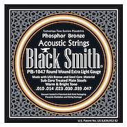 BLACK SMITH PB-1047 Fosforo Bronze 0.10/0.47 Encordado Acustica