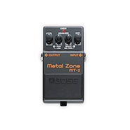 BOSS MT2 Metal Zone Pedal Efecto Guitarra