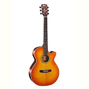 CORT L150F-LVBS Light Vintage Burst Guitarra Electroacustica Acero