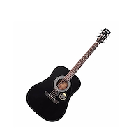 CORT AD810E-BKS Negra c/Funda Guitarra Electroacustica Acero