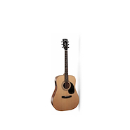 CORT AD810E-OP Natural c/Funda Guitarra Electroacustica Acero