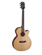 CORT SFX-E-NS Natural Satin Guitarra Electroacustica Acero