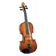 CREMONA SV-130 4/4 Tapa Pino Solido Select Cuerpo Maple Fl Violin c/Arco y Estuche