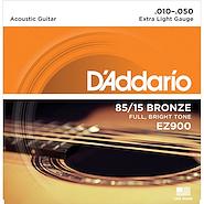 DADDARIO STRINGS EZ900 Encordado Acustica