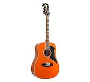 EKO Ranger 12 Tipo Folk 12 Cuerdas Honey Burst Guitarra Acustica