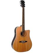 EKO NXTDCW Tipo Folk SBT Azul Guitarra Electroacustica Acero