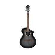 IBANEZ AEWC11 TCB Trans Blue Sunburst Charcoal Burst Guitarra Electroacustica Acero