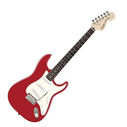 SQUIER Strato Std. RW SSS Candy Apple Red Guitarra Electrica