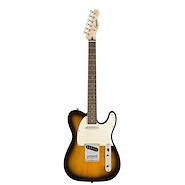 SQUIER Tele Bullet LRL Pickguard Blanco SS Sunburst Guitarra Electrica