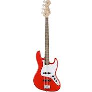 SQUIER Jazz Bass RWN Race Red Bajo Electrico