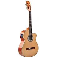 TEXAS CG20-LC5-NAT c/Funda Guitarra Electroacustica Nylon