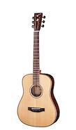 TYMA GUITARS HB400-NA Natural c/Fishman Funda, Correa, Paño Guitarra Electroacustica Acero