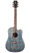 TYMA GUITARS HDC-350M-AB c/Fishman Funda, Correa, Paño Guitarra Electroacustica Acero
