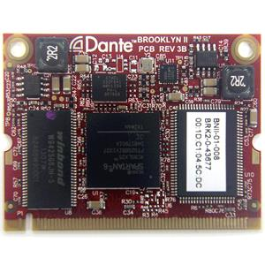 BURL AUDIO Dante Brooklyn II Card for B80/B16