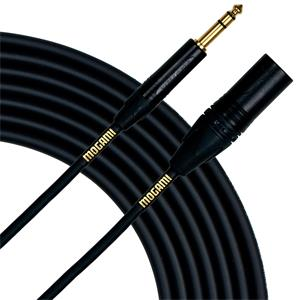 Mogami Gold TRS-XLRM Cable 10 Pies