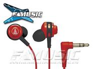 AUDIO TECHNICA ATH-COR150RD In Ear  Uso Urbano Red
