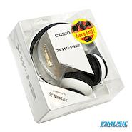 CASIO XW-H2  Circumaurales de 40mm Blanco