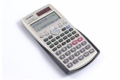 f434ca040026 CASIO FC-200V Calculadora Financiera
