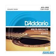 DADDARIO EZ910 85/15 11/52 Br