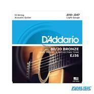 DADDARIO EJ36 12 Cuerdas