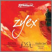 DADDARIO DZ310S4/4M 4/4 ZYEX Plata Medium