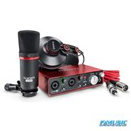 FOCUSRITE SCARLETT STUDIO KIT  2i2 + CM25 + HP60