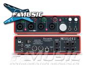 FOCUSRITE SCARLETT 18i8  18 IN/8 OUT