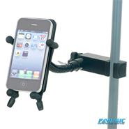 HAMILTON KB125EBK Soporte Para Smartphone Con Clamp