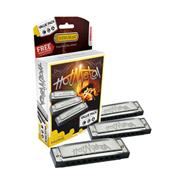 HOHNER Hot Metal Pack x 3 C-G-A