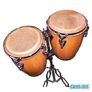 LAZER FTC-8300N Set MIni-Congas c/soporte Natural