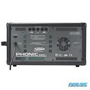 PHONIC POWER620R 200 w,6 xlr+2St,100 efcts  USB