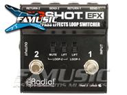 RADIAL ENGINEERING BIGSHOT EFX  Effects Loop Switcher