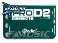 RADIAL ENGINEERING PROD2 Passive Direct Box