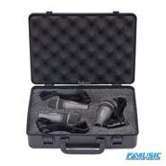 SAMSON DK703 Set 3 mics Q72 + sop+valija