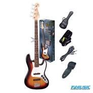 SX PACK FB1SK  Jazz Bass + Accesorios 25%OFF