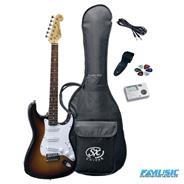 SX PACK FE1-SK Stratocaster + Accesorios