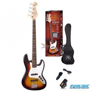 SX PACK FB1SK  Jazz Bass + Accesorios OUTLET 25%OFF
