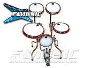 ZZ PERCUSION Metalica - Con Parches - 5 Cuerpos