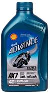 SHELL ADVANCE 15W50 Semi