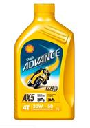SHELL ADVANCE AX5 20W 50