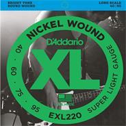D''ADDARIO EXL220 - 4 CUERDAS (040-095)