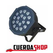 GBR Par led Gbr 18 luces de alta potencia