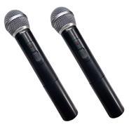 PARQUER Microfono Inalambrico Profesional Dual Uhf