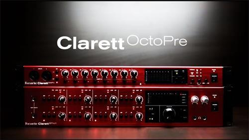 FOCUSRITE Clarett 8 PreX