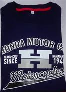 REMERA HONDA CLASSIC AZUL (M) MOTORACER