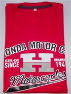 REMERA HONDA CLASSIC ROJO (L) MOTORACER