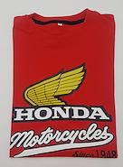 WING REMERA HONDA YELLOW WING MOTORACER