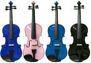PRYANA  Violin Estudio con arco resina Estuche
