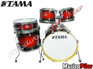 TAMA Bateria Tama 5c Silverstar Custom Red Burst
